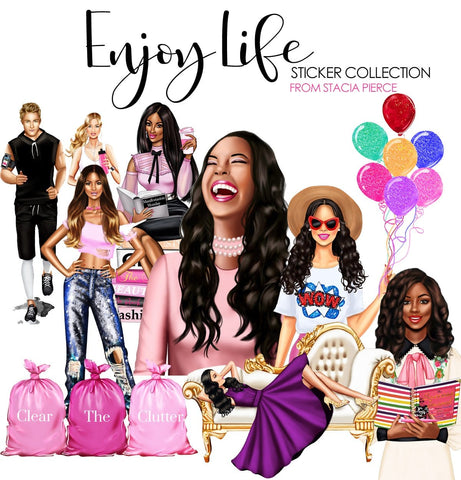 Enjoy Life Sticker Collection