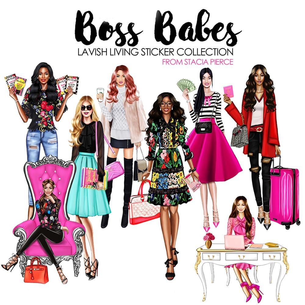 Success Stickers: Boss Babe Lavish Living Collection