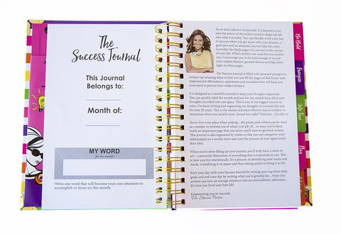 Success Journal Fuchsia Floral