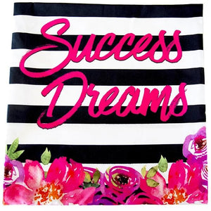 Success Dreams Pillow Cover