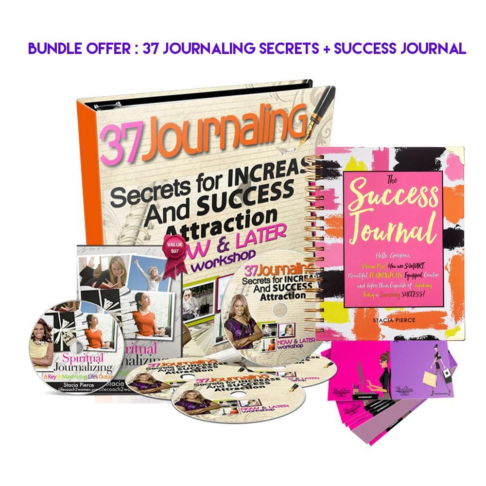 Bundle: 37 Journaling Secrets + Success Journal