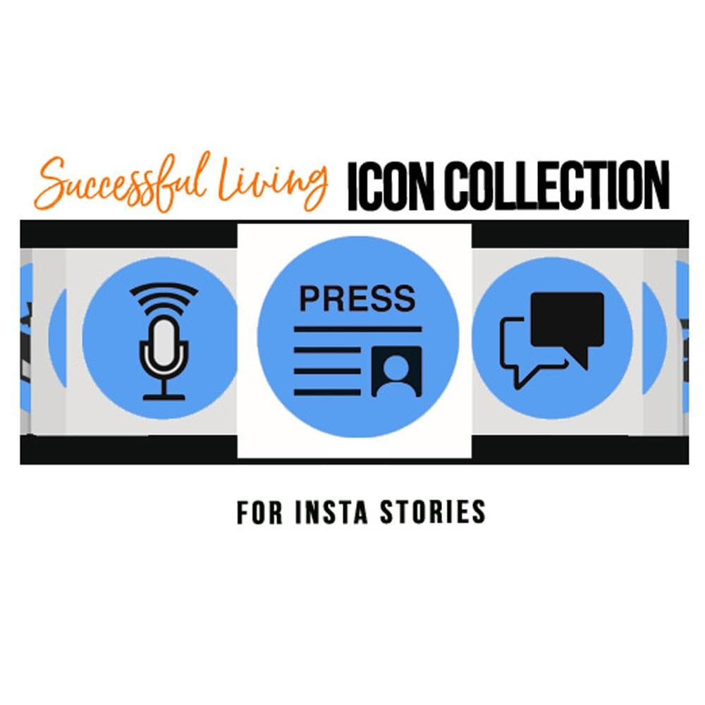 Instagram Stories Highlight Icons