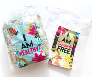 Prosperity/Debt Reduction Bag System (money bags)