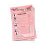 Successful Day Notepad-Pink Passion