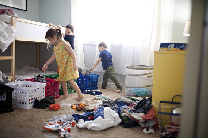 Spring Cleaning: What To Do With Your Kid's Outgrown Clothes