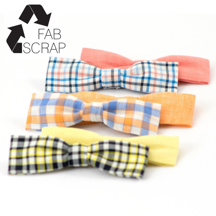 New Spring Bowtie Capsule Collection Made from Upcycled Fabric!