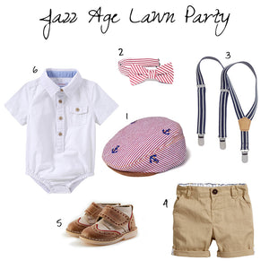 Junior Gent Style At Jazz Age Lawn Party