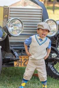 Vintage-Inspired Kiddie Couture at the 13th Annual Jazz Age Lawn Party Children's Parade