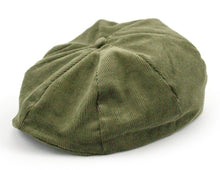 Mens Cord Applejack Cap