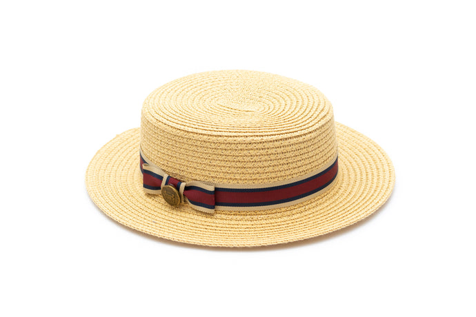 Toddler straw summer hat Junior Baby Hatter