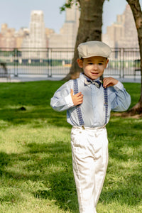 anchor navy suspenders kids