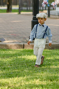wedding suspenders for boys