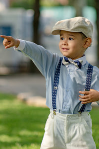 ring bearer wedding suspenders for toddlers