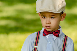 ring bearer suspenders for toddlers