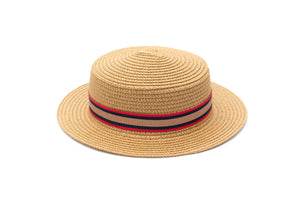 boys classic paper straw hat