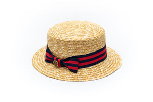 baby boys boater hat Junior Baby Hatter
