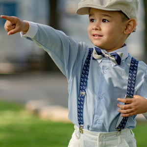 luxury kids silk bow tie