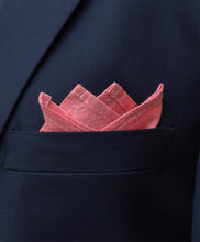 4 Peaks Fold Cotton Pocket Square