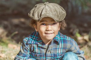 little boys hat set
