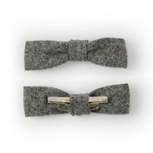 wool bow tie