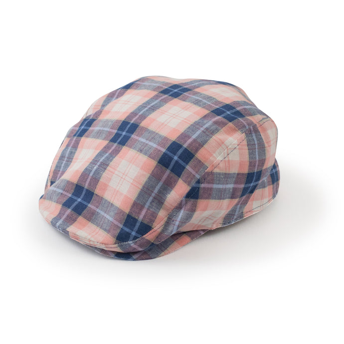 Plaid hats for boys