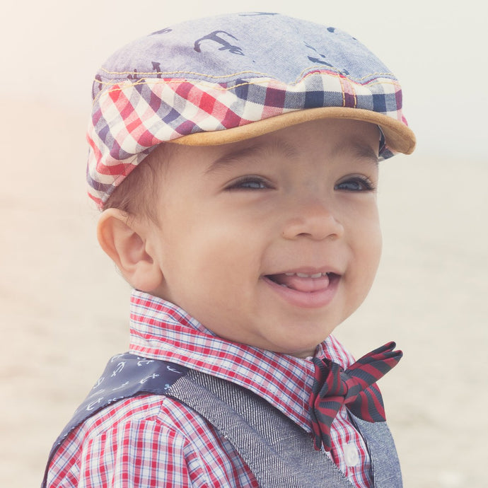 Cotton Summer Hats for Baby Boys