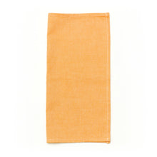 "Orange Linen Pocket Square 12x12"" at Junior Baby Hatter"