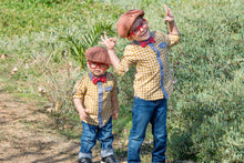 Big Brother Little Brother Matching Hat Set