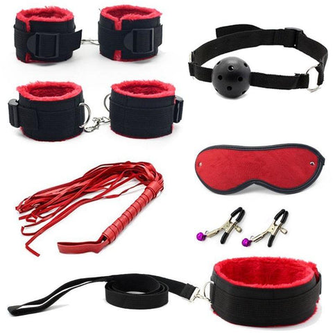 Sexy 7-piece Bondage Kit