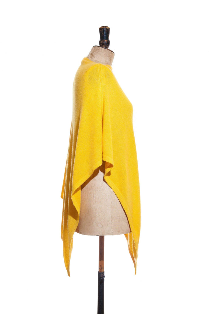 www.thecuriousyak.com Ponchos and Wraps Plain Yellow Poncho