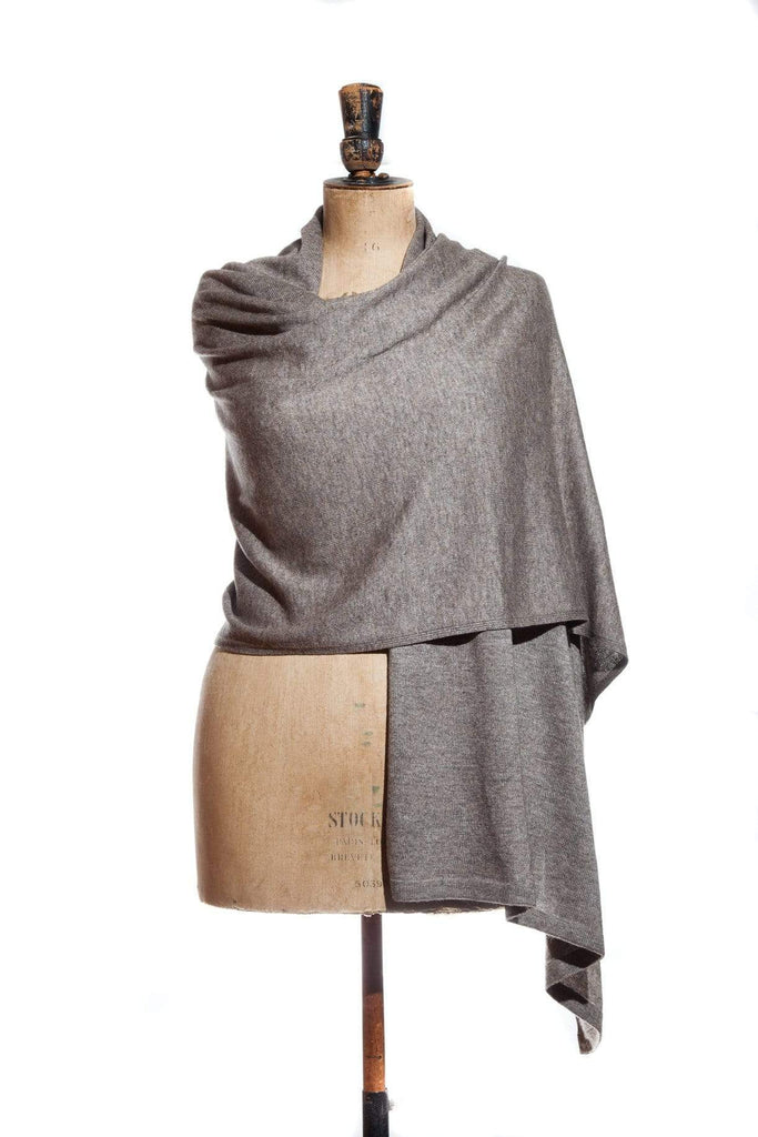 www.thecuriousyak.com Ponchos and Wraps Truffle Wrap