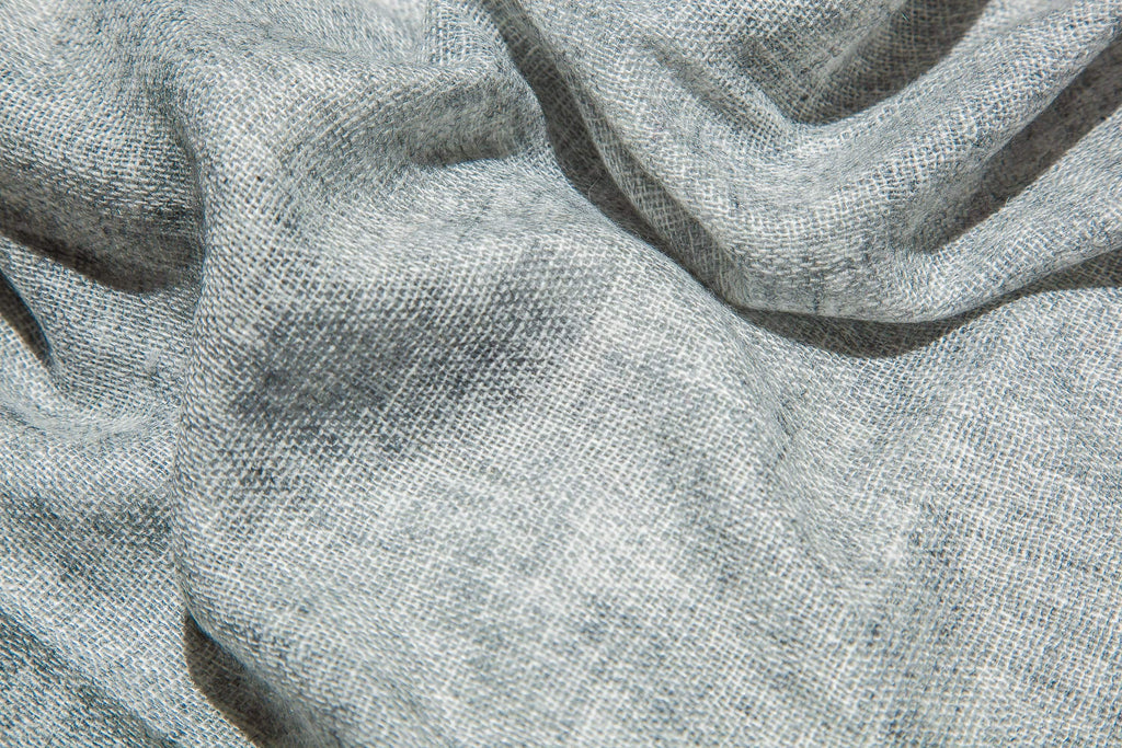 www.thecuriousyak.com Scarves Light Grey Cashmere Scarf