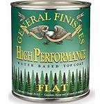 General Finishes High Performance topcoat pints