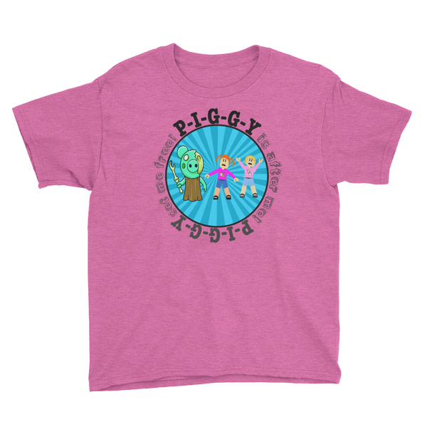 Roblox Piggy T-Shirt Featuring Molly & Daisy!