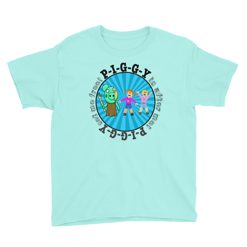 Roblox Piggy T Shirt Featuring Molly Daisy The Star Squad