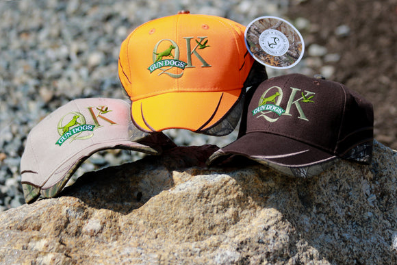 QK Gun Dog Hat - with Realtree Camo