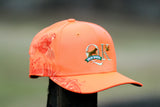QK Gun Dogs Blaze Orange Embroidered Quail Hat