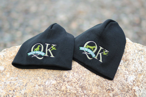 QK Gun Dogs Logo Winter Hat