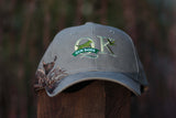 QK Gun Dogs Grey Embroidered Pheasant Hat