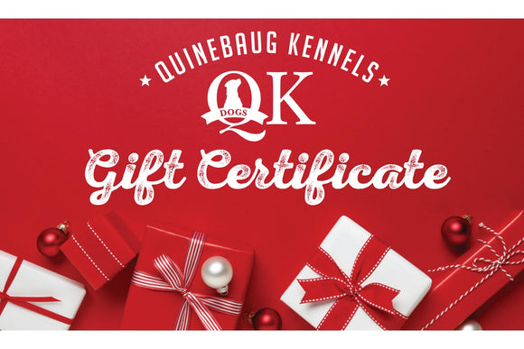 NEW! QK Gift Card