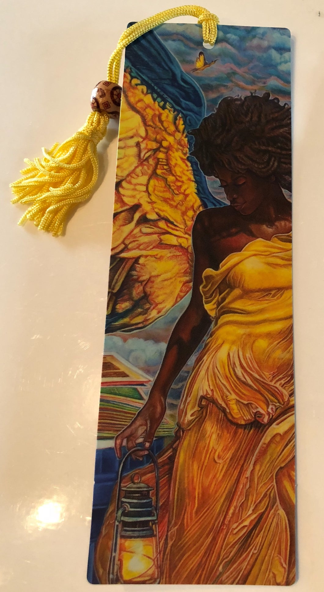 Angel With Lantern Bookmark
