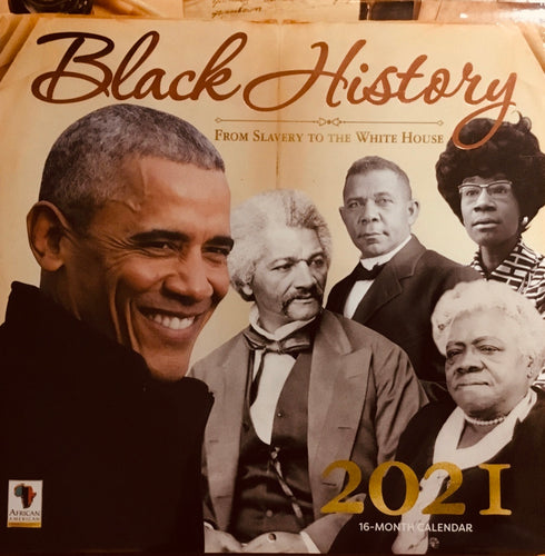 NEW!!! 2021 Black History #1 Wall Calendar