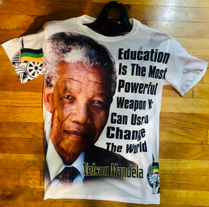 NEW!!! Nelson Mandela Regular Cut Jer-zee