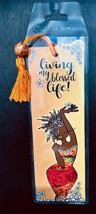 NEW!!! Living My Blessed Life Bookmark