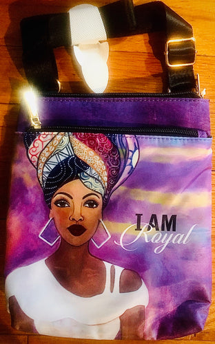 NEW!!! I Am Royal Travel Purse