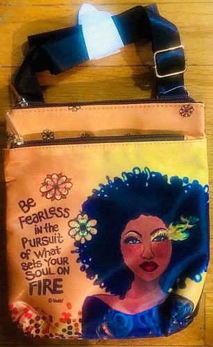 NEW!!! Fearless Travel Purse