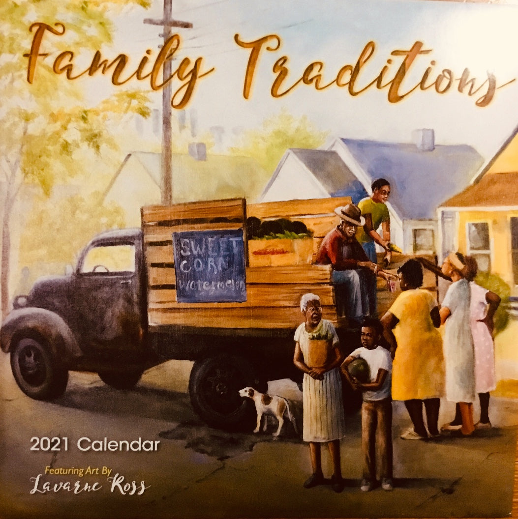 NEW!!! Family Traditions 2021 Wall Calendar