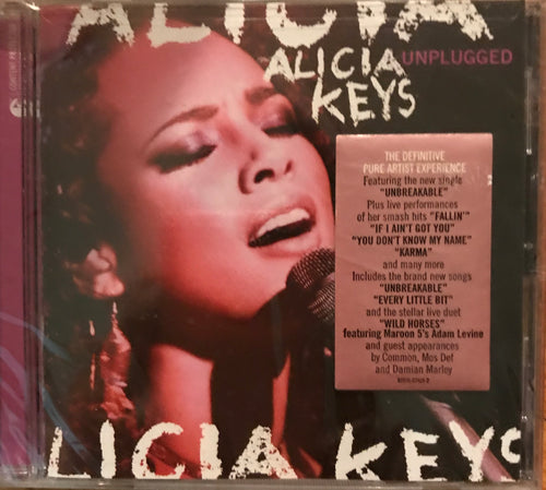 Alicia Keys unplugged   R&B CD