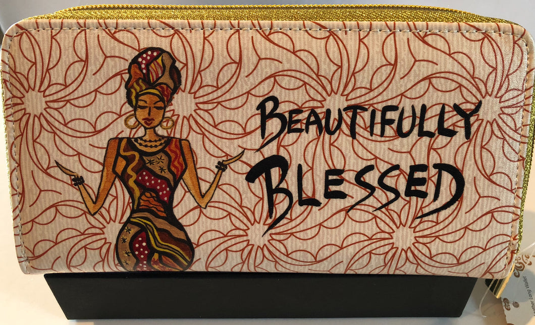 Beatifully Blessed Long Wallet