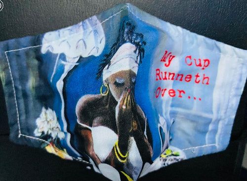 NEW!!! My Cup Runneth Over...Mask